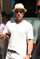 Brad Pitt Seen In New York City