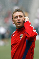 20 May 2007: Chivas Team Administrator and Assistant Coach Kevin Esparza  during a 1-1 tie for MLS Chivas USA vs. Los Angeles Galaxy pro soccer teams at the Home Depot Center in Carson, CA.