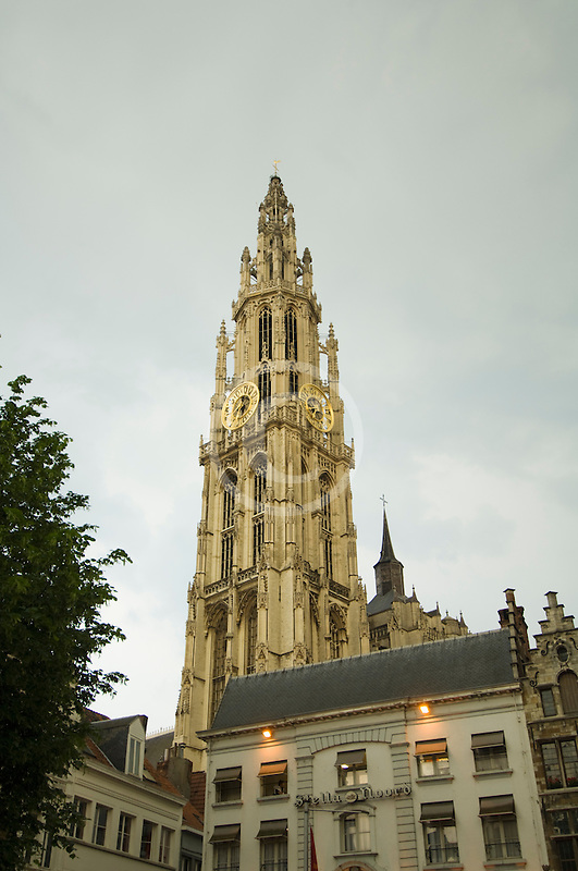 Belgium, Antwerp, Cathedral of Our Lady, Onze Lieve Vrouwekathedraal