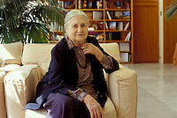 2003: DORIS LESSING, WRITER  © Leonardo Cendamo