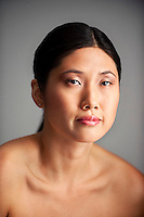 Beauty photo of young Asian woman