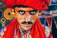 A Kacchhi bridegroom on the day of his wedding...