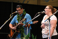 Hi'ikua performing at the Annual Live Aloha Festival 2011.