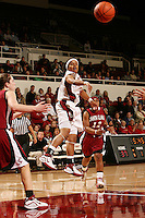 29 November 2006: Markisha Coleman during Stanford's 88-56 win over Santa Clara at Maples Pavilion in Stanford, CA.