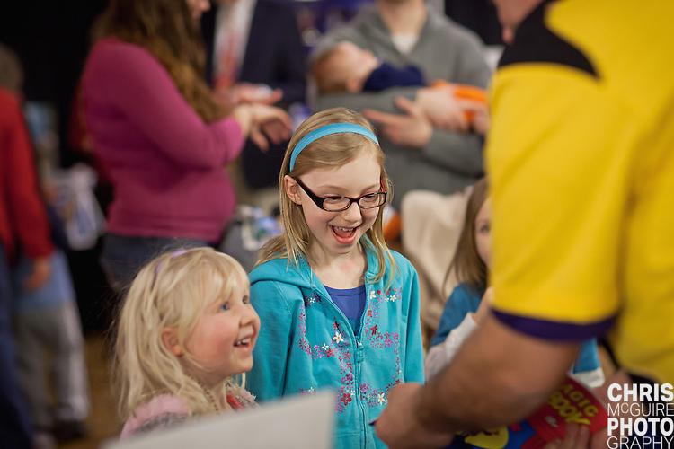 02/12/12 - Kalamazoo, MI: Kalamazoo Baby & Family Expo.  Photo by Chris McGuire.  R#20