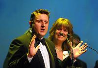 Andy Prow. Wellington Gold Awards at TSB Bank Arena, Wellington, New Zealand on Thursday, 9 July 2015. Photo: Dave Lintott / lintottphoto.co.nz
