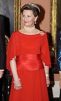King Harald and Queen Sonja of Norway State visit to Canada..King Harald, and Queen Sonja of Norway attend a State Dinner, at Rideau Hall, in Ottawa, hosted by The Governor General, Adrienne Clarkson.