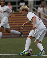 Boston College midfielder Kyle Bekker (10) dribbles. Boston College defeated Quinnipiac, 5-0, at Newton Soccer Field, September 1, 2011.