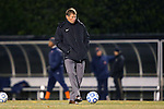 12 November 2013: Wake Forest head coach Jay Vidovich. The Wake Forest University Demon Deacons hosted the University of Virginia Cavaliers at Spry Stadium in Winston-Salem, North Carolina in a 2013 NCAA Division I Men's Soccer match and the quarterfinals of the Atlantic Coast Conference tournament. Virginia won the game 1-0 in overtime.