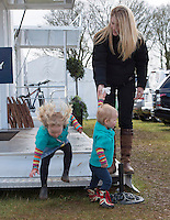 Savannah Phillips, Queen's grandchild, at the Gatcombe Horse Trials - UK