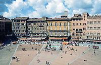 Siena:  Piazza Del Campo.  Photo '83.