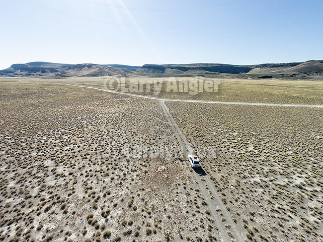 Drone selfie, Lunar Lake, Nevada, from a drone.
