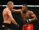 November 17, 2007: UFC 78 Rashad Evans vs Michael Bisping