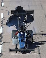 Feb 25, 2017; Chandler, AZ, USA; NHRA top fuel driver Shawn Reed during qualifying for the Arizona Nationals at Wild Horse Pass Motorsports Park. Mandatory Credit: Mark J. Rebilas-USA TODAY Sports