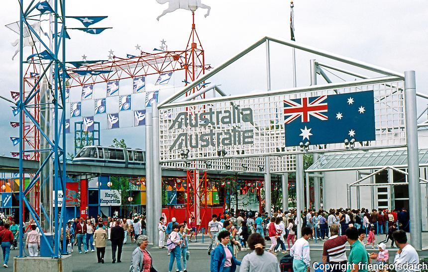 Vancouver: EXPO '86--Australian Pavilion. Photo '86.