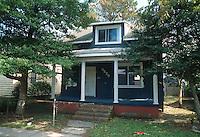 1992 October 07..Conservation.Cottage Line..PROGRESS.BEFORE REHAB.EXTERIOR FRONT.9520 CHESAPEAKE STREET...NEG#.NRHA#..