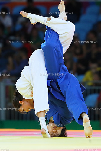 Miku Tashiro (JPN), <br /> AUGUST 9, 2016 - Judo : <br /> Women's -63kg 3rd place match <br /> at Carioca Arena 2 <br /> during the Rio 2016 Olympic Games in Rio de Janeiro, Brazil. <br /> (Photo by YUTAKA/AFLO SPORT)