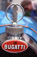 August 26th, 1984. Bugatti detail of radiator.