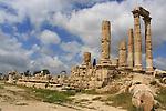 Hercules temple view from citadella