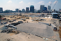 1997 June 10..Redevelopment..Macarthur Center.Downtown North (R-8)..LOOKING SOUTH.FROM FREEMASON GARAGE.MID LEVEL.SUPERWIDE..NEG#.NRHA#..