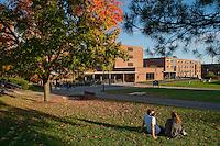 UVM Residence Halls, Mason-Simpson-Hamilton, UVM Campus, Fall