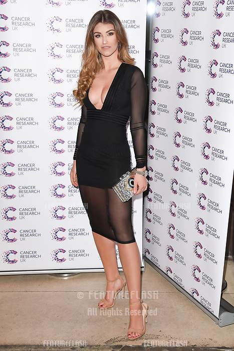 Amy Willerton arriving at James Ingham&rsquo;s Jog On to Cancer, in aid of Cancer Research UK at The Roof Gardens in Kensington, London.  <br /> 12 April  2017<br /> Picture: Steve Vas/Featureflash/SilverHub 0208 004 5359 sales@silverhubmedia.com