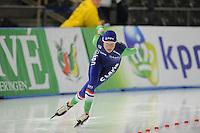 SCHAATSEN: BERLIJN: Sportforum Berlin, 05-12-2014, ISU World Cup, Carien Kleibeuker (NED), ©foto Martin de Jong