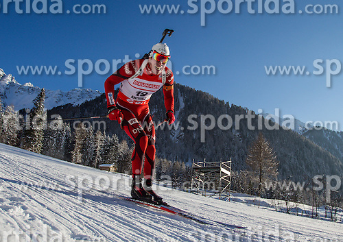 18.01.2013, Suedtirol Arena, Antholz, ITA, E. ON IBU Weltcup, Sprint, Herren, im Bild Emil Hegle Svendsen (NOR) // Emil Hegle Svendsen of Norway  during Mens Sprint of E. ON IBU Biathlon World Cup at the Biathlonstadium in Anterselva, Italy on 2013/01/18. EXPA Pictures © 2013, PhotoCredit: EXPA/ .Juergen Feichter