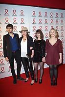 Lilly Fleur Pointeaux - Agustin Galiana - Leopoldine Serre - Fabienne MahÈ - SOIREE DE PRESENTATION DU SIDACTION 2017 AU MUSEE DU QUAI BRANLY