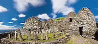Skellig Michael Monastery and Graveyard, County Kerry | Ireland - skm0030