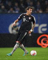 USSBALL   1. BUNDESLIGA    SAISON 2012/2013    10. Spieltag   Hamburger SV - FC Bayern Muenchen                    03.11.2012 Mario Mandzukic (FC Bayern Muenchen) Einzelaktion am Ball