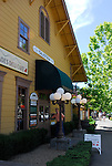 railroad station in Calistoga