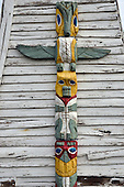 Stock photograph of Totem Pole