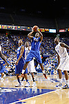 Darius Miller shoots the ball at the Alumni Charity Basketball Game at Rupp Arena in Lexington, Ky., on Saturday, September 15, 2012. Photo by Tessa Lighty | Staff