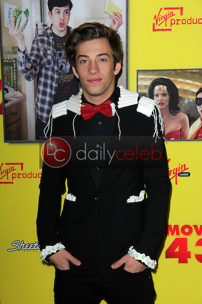 Jimmy Bennett<br /> at the &quot;Movie 43&quot; Los Angeles Premiere, Chinese Theater, Hollywood, CA 01-23-13<br /> David Edwards/DailyCeleb.com 818-249-4998