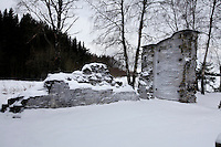 "Ruins of the original monastery in Munkeby...The new Munkeby Mariakloster - kloster is Norwegian for monastery . The four founding French monks will establish their discrete presence as a contemplative monastery according to the Rule of Saint Benedict, written in the 6th century. Brother Joel (55) & Cîteaux's Prior, brothers Arnaud (31), Bruno (33) and Cyril (81), have all chosen to be part of the founding community, despite Norway's rude climate and winter darkness at latitude 63º N, not far from the arctic circle.Munkeby, the ""place of the monks"" was the third and northernmost Norwegian monastery established by the Cistercians in the 12th century"
