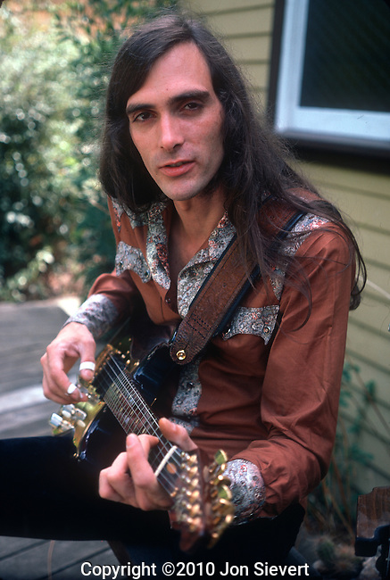 John Cipollina, Aug 1976. American guitarist best known for his role as a founder and the lead guitarist of the San Francisco rock band Quicksilver Messenger Service.