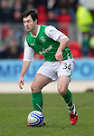 St Johnstone v Hibs....05.03.11 .Richie Towell.Picture by Graeme Hart..Copyright Perthshire Picture Agency.Tel: 01738 623350  Mobile: 07990 594431