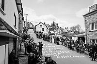 waiting for the riders up the C&ocirc;te de Saint-Roch in Houffalize<br /> <br /> 103rd Li&egrave;ge-Bastogne-Li&egrave;ge 2017 (1.UWT)<br /> One Day Race: Li&egrave;ge &rsaquo; Ans (258km)