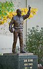 Oct. 7, 2011; Dan Devine statue..Photo by Matt Cashore/University of Notre Dame