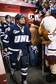 Dan Correale (UNH - 13) - The Boston College Eagles defeated the visiting University of New Hampshire Wildcats 5-2 on Friday, January 11, 2013, at Kelley Rink in Conte Forum in Chestnut Hill, Massachusetts.