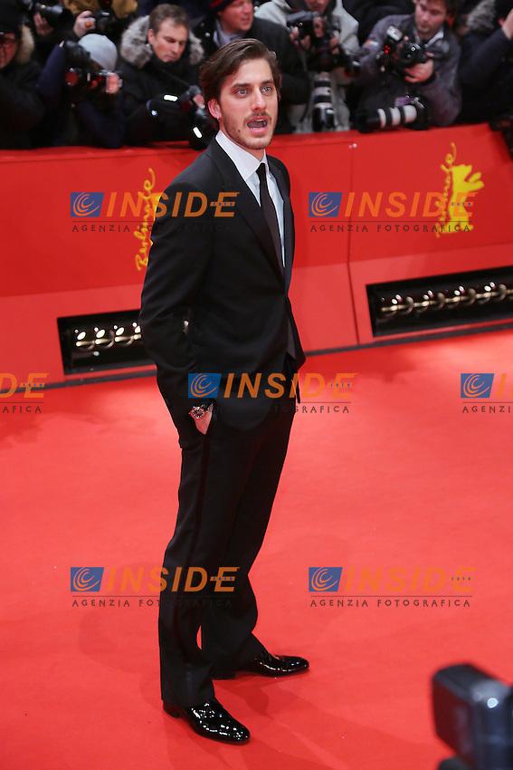 Luca Marinelli. Berlin 11/02/2013. 63th Berlinale 'Mini Shooting Stars' photocall. foto Mark Cape/Insidefoto