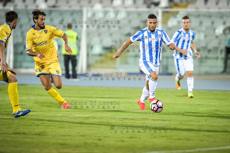Gianluca Caprari (PESCARA) during the Italian Cup - TIM CUP -match between Pescara vs Frosinone, on August 13, 2016. Photo: Adamo Di Loreto/BuenaVista*photo