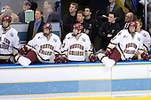 BC bench - Carl Sneep (Boston College - Nisswa, Minnesota), Greg Brown, Brett Motherwell (Boston College - St. Charles, IL), Brian O'Hanley (Boston College - Quincy, MA), Dan Meenan, Bert Lenz, Justin Murphy, Tim McFeely, Tim Filangieri (Boston College - Islip Terrace, NY) and Joe Pearce (Boston College - Brick, NJ). The Michigan State Spartans defeated the Boston College Eagles 3-1 (EN) to win the national championship in the final game of the 2007 Frozen Four at the Scottrade Center in St. Louis, Missouri on Saturday, April 7, 2007.