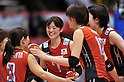 Mai Yamaguchi (JPN),.MAY 23, 2012 - Volleyball : FIVB the Women's World Olympic Qualification Tournament for the London Olympics 2012, between Japan 1-3 Korea at Tokyo Metropolitan Gymnasium, Tokyo, Japan. (Photo by Jun Tsukida/AFLO SPORT) [0003].