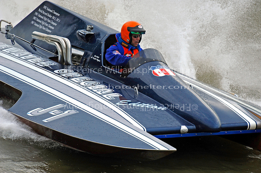 "Kevin Klosterman, J-1 ""Bluewater Special"" (1978 Staudacher 7 Litre Div II hydroplane)"
