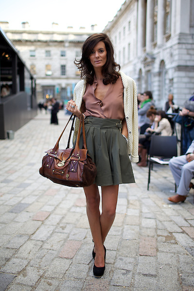 Street Style At London Fashion Week Somerset House London Marcus Dawes