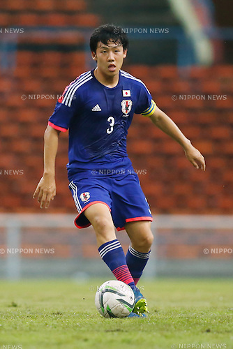 Wataru Endo (JPN), MARCH 29, 2015 - Football / Soccer : AFC U-23 Championship 2016 Qualification Group I match between U-22 Japan 2-0 U-22 Vietnam at Shah Alam Stadium in Shah Alam, Malaysia. (Photo by Sho Tamura/AFLO SPORT)