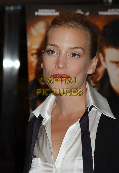 "PIPER PERABO.Attends the ""Edison"" World Premiere held at Roy Thomson Hall during The Toronto Film Festival,.Toronto 17th September 2005.portrait headshot black jacket white shirt.Ref: ADM/LF.www.capitalpictures.com.sales@capitalpictures.com.© Capital Pictures."