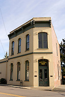 Historical City Hall building in La Conner, Washington state, USA